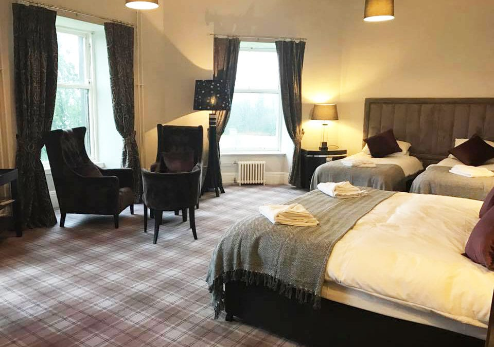 Refurbished Bedrooms at Gartmore House