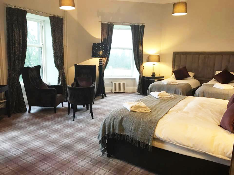 Bedrooms at Gartmore House