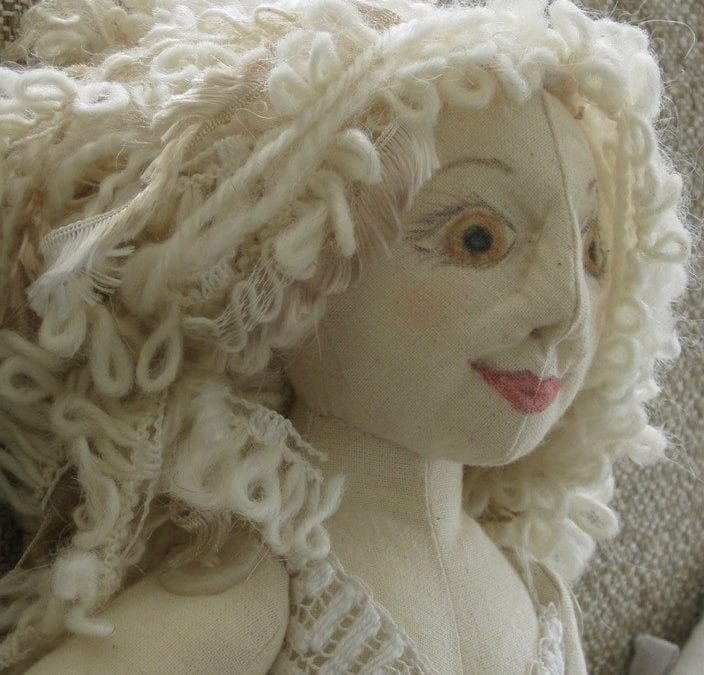 NEW for 2019! Art Cloth Doll Making Courses at Gartmore House
