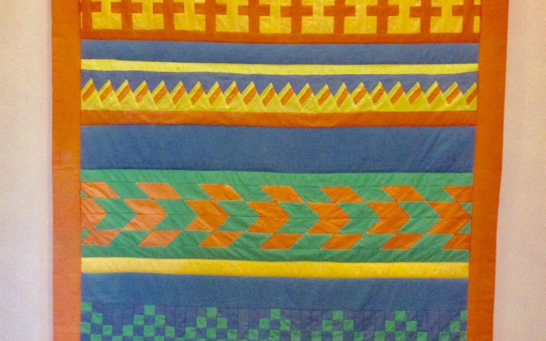 Seminole Patchwork – NEW for 2019/20 Patchwork & Quilting Courses