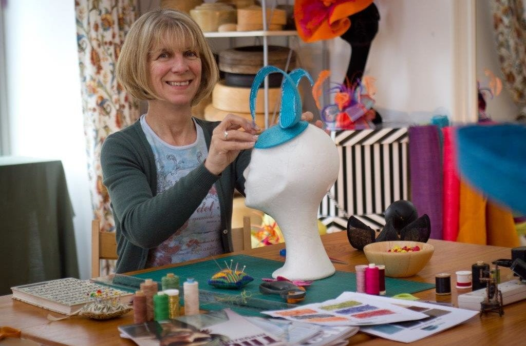 Tutor Clare Workman talks about her new Millinery course 'Fabulous Fascinators'