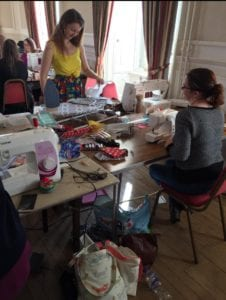 Sewing course at Gartmore House