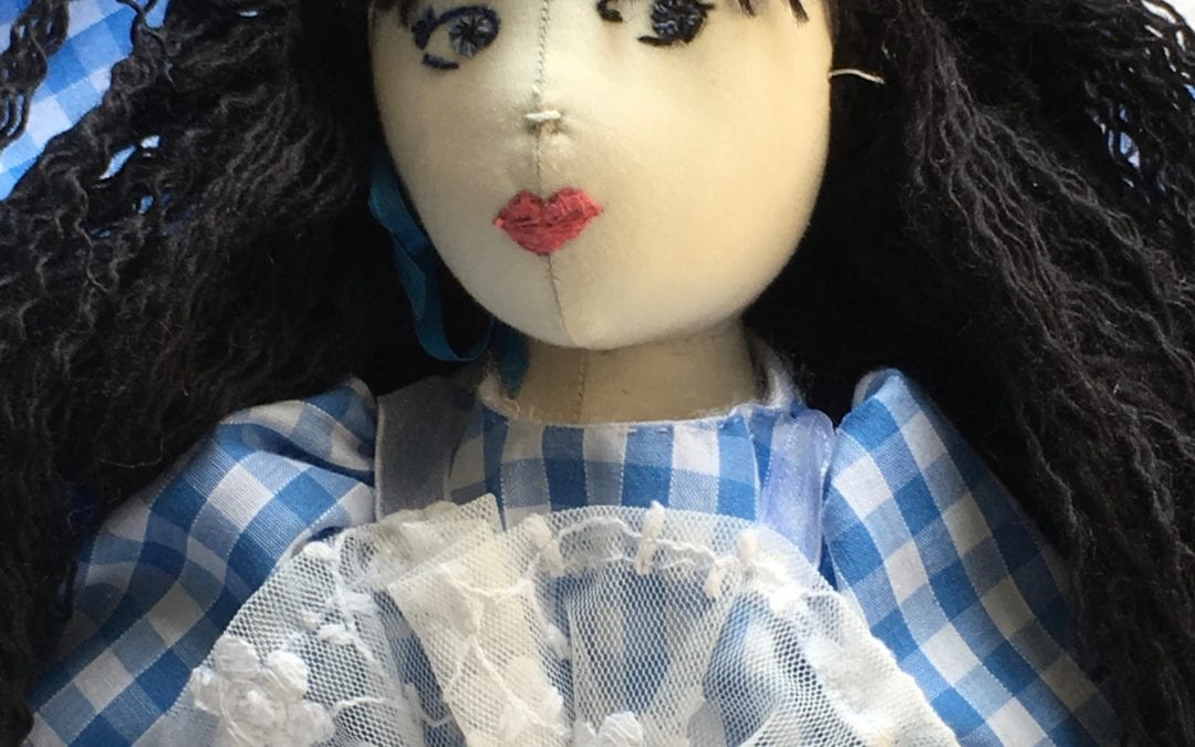 Art Cloth Doll Making Workshops – Hello from Tutor Angela Neilson
