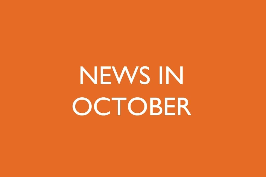 News in October