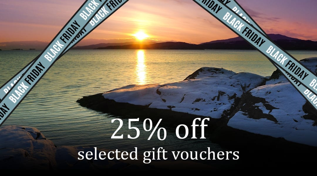 Black Friday Sale – 25% off Selected Gift Vouchers