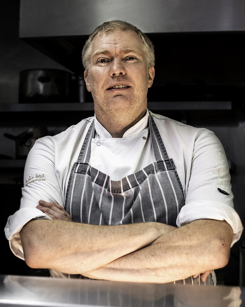 Richard Young - Chef at Loch Melfort