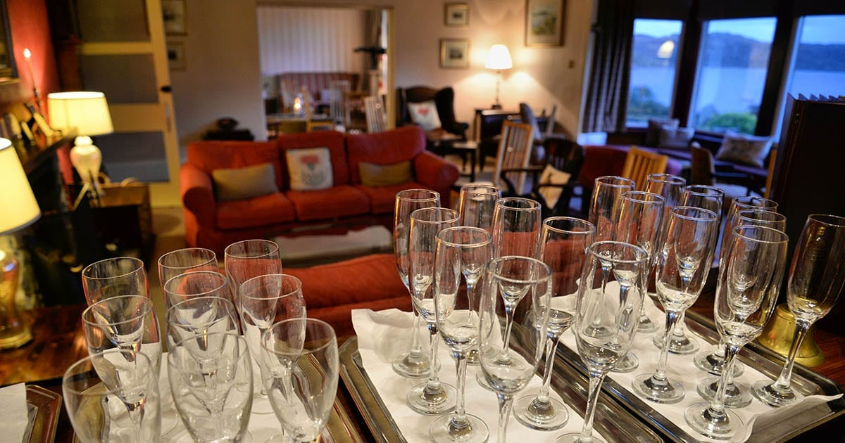 loch melfort hotel oban dining experience lounge