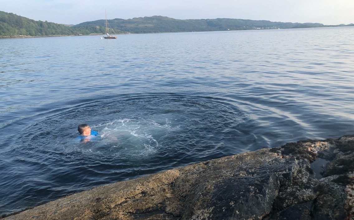 wild swimming oban